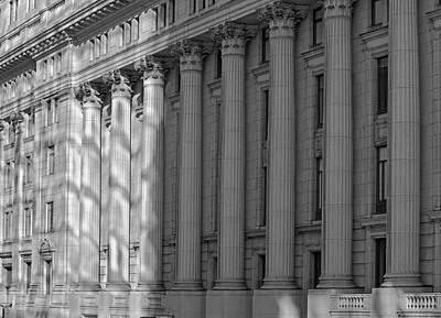 Montreal Landmarks Photograph - Sun Life Building  Montreal, Quebec by David Chapman