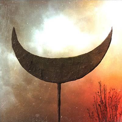 Moon Photograph - Sun Moon Stars  by Mark M  Mellon
