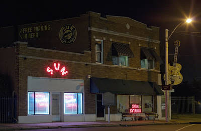 Memphis Recordings Photograph - Sun Records Studio In Memphis by Mountain Dreams