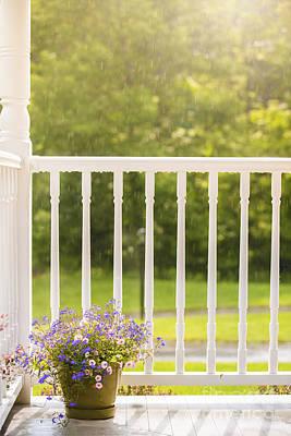 Sun Porch Photograph - Sun Showers by Diane Diederich