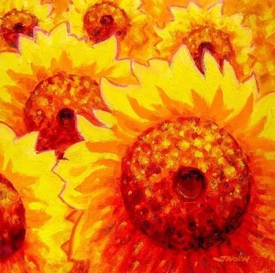 Sunburst Print by John  Nolan