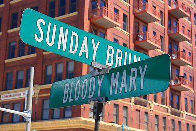 Bloody Mary Digital Art - Sunday Bloody Sunday by Geoff Strehlow