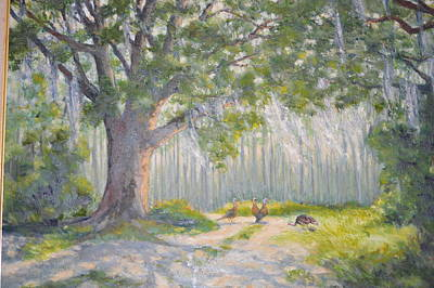 Painting - Sunday Morning by Betty McGlamery
