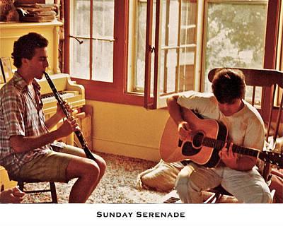 Music Recital Photograph - Sunday Serenade by Lorenzo Laiken