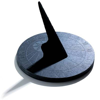 Sundial Photograph - Sundial by Science Photo Library