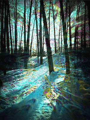 Designs With Photograph - Sundog Reflections by Shirley Sirois