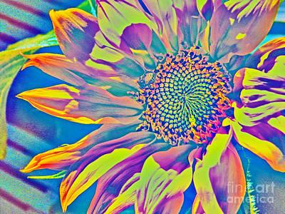Sunflower Fantasy Print by Dale Jackson