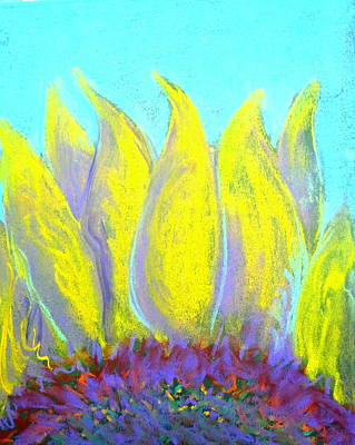 Loose Style Painting - Sunflower by Sue Jacobi