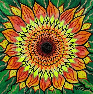 Sunflower Print by Teal Swan