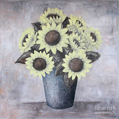 Painting - Sunflowers by Home Art