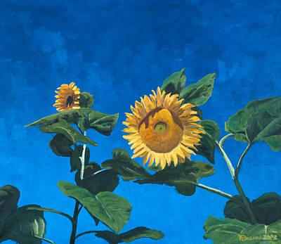 Sunflowers Print by Marco Busoni