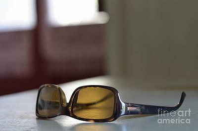 Photograph - Sunglasses On Table by Sami Sarkis