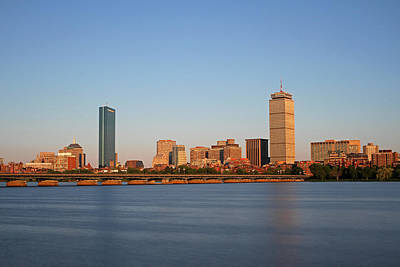 Sunny Boston Print by Juergen Roth