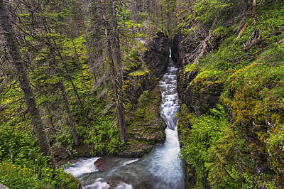 Sunrift Gorge Print by Mark Kiver