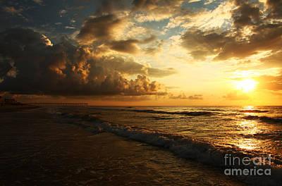 Sunrise - Rich Beauty Print by Wayne Moran