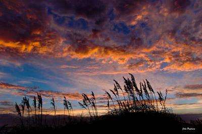Sunrise At Hatteras Print by John Pagliuca