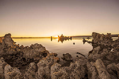 Monolake Photograph - Sunrise At Monolake by Sashikanth Chintla