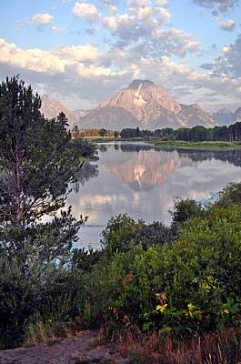 Sunrise At Oxbow Bend 3 Print by Marty Koch