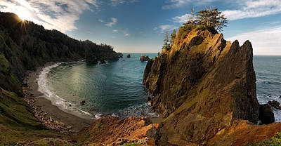 Best Ocean Photograph - Sunrise Cove by Leland D Howard