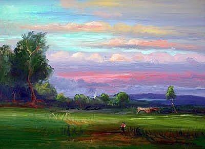 Palo Cedro Painting - Sunrise Delight by Patricia Kimsey Bollinger