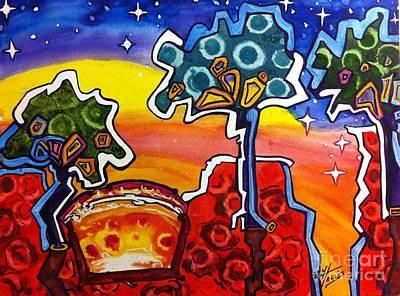 Painting - Sunrise by Gayla Hollis