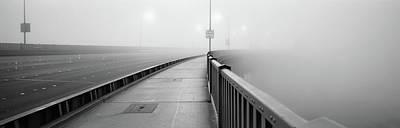 Purple Haze Photograph - Sunrise Golden Gate Bridge Ca Usa by Panoramic Images