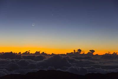 Sunrise Haleakala Volcano Print by Norman Blume