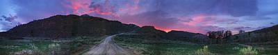 Sunrise In Colorado Print by Ric Soulen