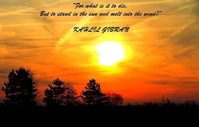 Prophet Mixed Media - Sunrise Kahlil Gibran by Dan Sproul