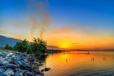 Manley Photograph - Sunrise by Lechmoore Simms