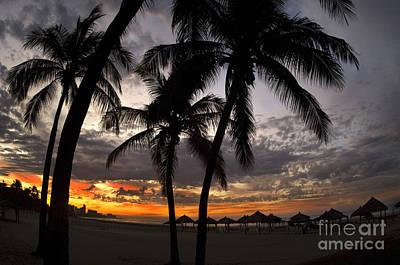 Sunrise, Mexico Print by Ron Sanford