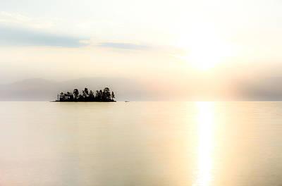 Sunrise Mist Print by Aaron Aldrich