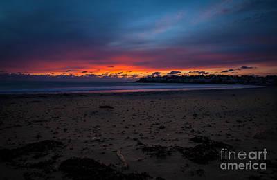 Sunrise On Shortsands  Print by Sue OConnor