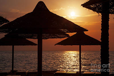 Egypt Photograph - Sunrise On The Beach by Jane Rix