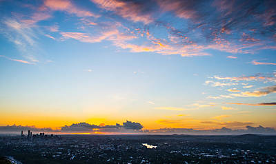 Australia Photograph - Sunrise On The Horizon by Parker Cunningham