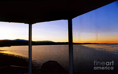 Saugerties Photograph - Sunrise On The Hudson by Skip Willits