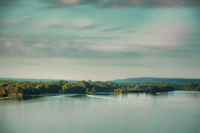Sunrise On The River - Water Scene Print by Jai Johnson
