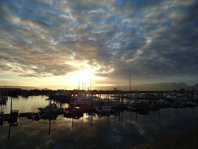 Prints Of Alaska Photograph - Sunrise On The Spit by Patricia Twardzik
