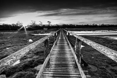 Sunrise Over Aberlady Bridge.psd Print by Keith Thorburn LRPS