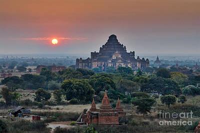 sunrise over Bagan Original by Juergen Ritterbach