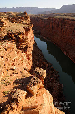 Sunrise Over Marble Canyon - Arizona Print by Gary Whitton