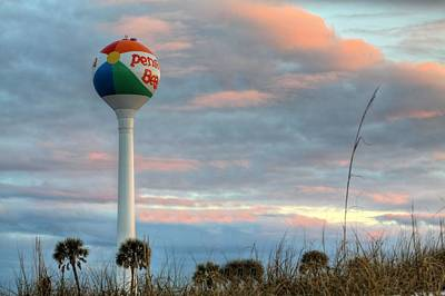 Sunrise Over Pensacola Beach Print by JC Findley