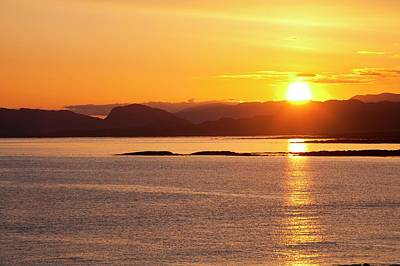 Sea View Photograph - Sunrise Over The Applecross Mountains by Ashley Cooper