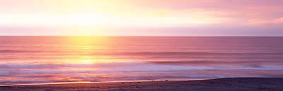 Sunrise Over The Sea, Kauai, Hawaii Print by Panoramic Images