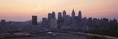 Philadelphia Pa Photograph - Sunrise Philadelphia Pa Usa by Panoramic Images