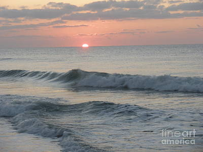 Sunrise Print by Polly Anna