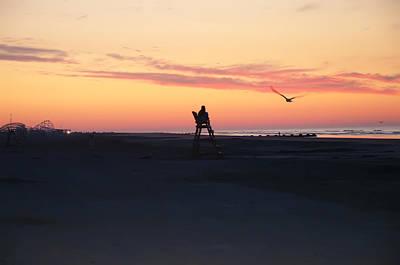 Sunrise Solitude Print by Bill Cannon