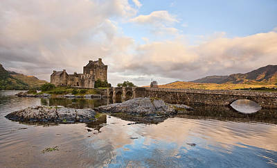 Castle Photograph - Sunrise With Eilean by Marcia Colelli