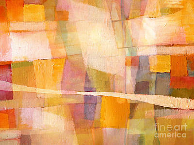 Artistic Painting - Sunscape by Lutz Baar