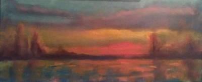 Sunset 2012 Print by Piotr Wolodkowicz